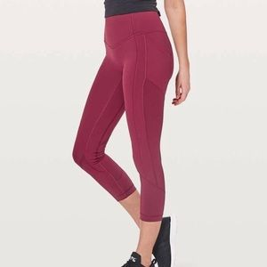 Lululemon all the right places Crop legging size 6